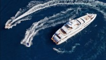 The MondoMarine Superyacht Manifiq and toys - Image credit Luca Dini Design